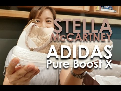 Stella McCartney Adidas Pure Boost X Unboxing ✔