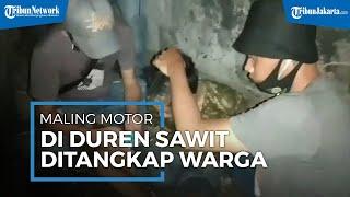 Maling Motor di Duren Sawit Ditangkap Warga, Ada Dua Pelaku, Satu Terkangkap Satu Lagi Jadi Buronan