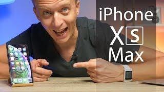 iPhone Xs Max – первый взгляд