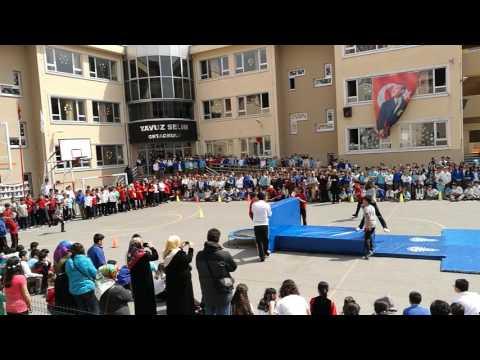 Yavuz Selim o.o cimnastik ekibi 23nisan