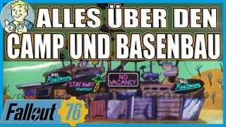 FALLOUT 76 - ALLES ÜBER CAMP & BASENBAU [ TIPPS & TRICKS | GERMAN | PRE-RELEASE]