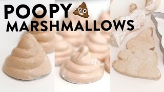 How To Make POOP MARSHMALLOWS 3 Ways! | Homemade Marshmallows Recipe | RECIPE
