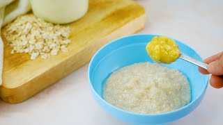How to Prepare Oatmeal Cereal for a Baby