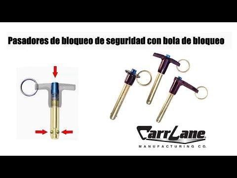 Pasadores de bolas autoblocantes - Spanish