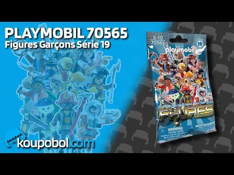 Vidéo PLAYMOBIL Figures 70565 : Figures Garçons - Série 19