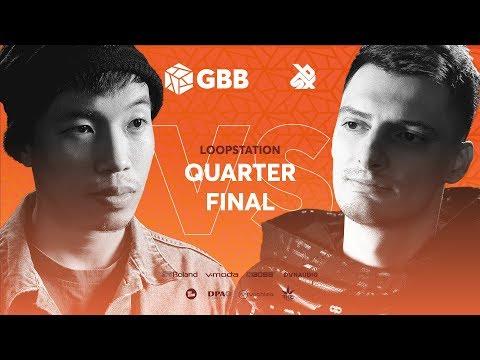 THAI SON vs INKIE   Grand Beatbox Battle 2019   LOOPSTATION 1/4 Final