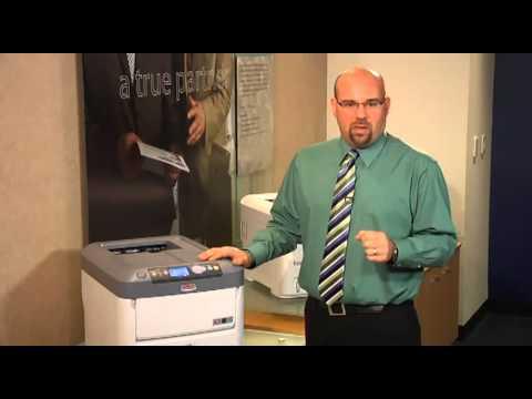 Impresora profesional laser led color A4, OKI C711