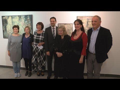Várnegyed Galéria - Karátson Gábor - video preview image
