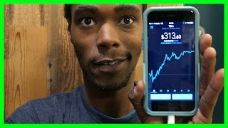 What's inside of my RobinHood stock account