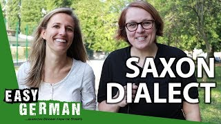 Saxon Dialect vs Standard German (with Anja from Learn German with Anja)