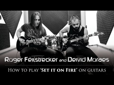 ERIDANUS - How to Play 'Set it on Fire' on Guitars