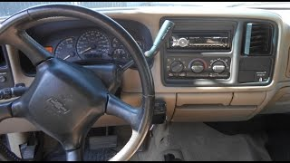 How To Install A Stereo In A Chevy Silverado. Head Unit