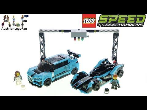 Vidéo LEGO Speed Champions 76898 : Formula E Panasonic Jaguar Racing GEN2 & Jaguar I-PACE eTROPHY