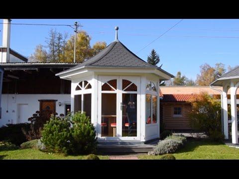 "Hochwertiger Gartenpavillon ""Palermo"" - HUMMEL Blockhaus"