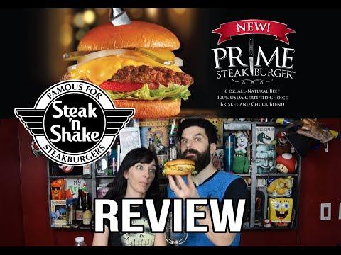 Steak 'N Shake NEW Prime World's Best Brisket Steakburger REVIEW