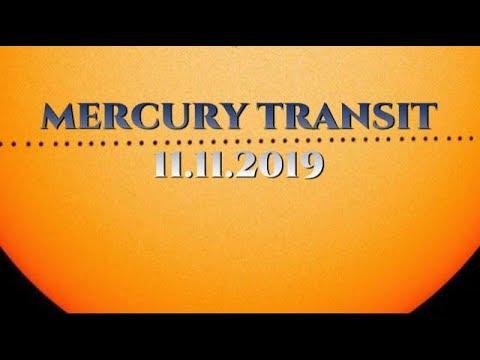 MERCURY TRANSIT 2019 (11.11.2019)