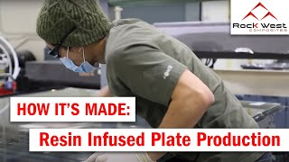 Resin Infused Plate Production - How It's Made