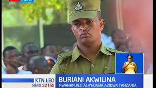 Mwanafunzi aliyeuawa kwa kupigwa risasi na polisi nchini Tanzania azikwa