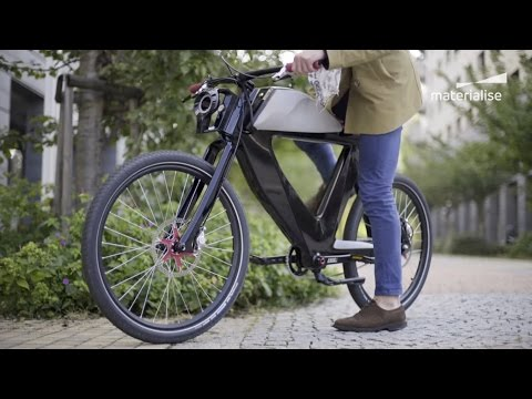 E-Bike Bicicletto® Gets 3D-Printed Upgrade