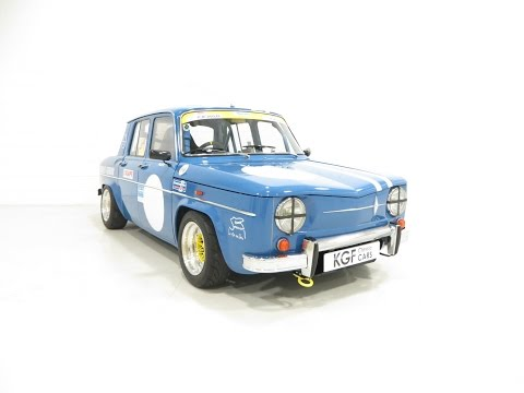 A Genuine RHD Renault 8 Gordini R1134 With Racing Pedigree - SOLD!