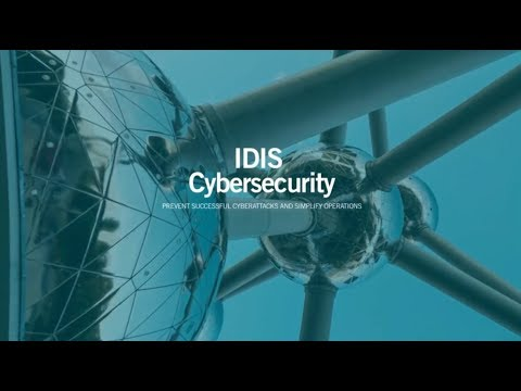 IDIS TO FOCUS ON VIDEO SURVEILLANCE CYBERSECURITY AT IFSEC