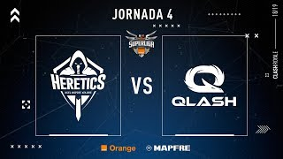 Team Heretics VS QLASH | Jornada 4 | Temporada 2018-2019