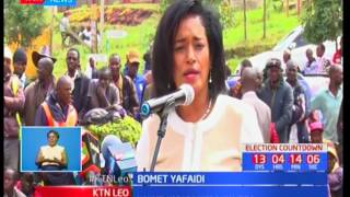 Gavana wa Bomet Isaac Ruto apokea vifaa vya afya