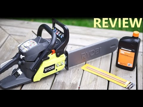 Ryobi 14 in. 37cc 2-Cycle Gas Chainsaw Review