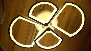 Видео о 8012/2+2 - SX led люстра