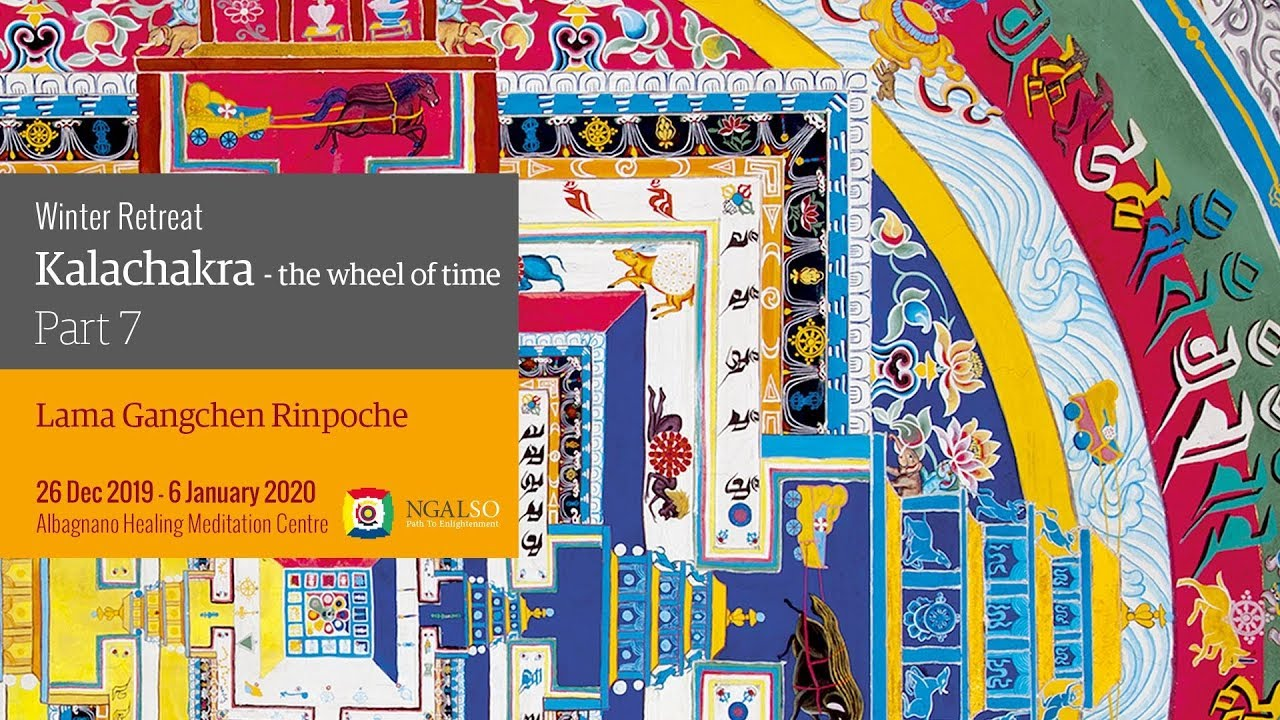 Winter retreat - Kalachakra: the Wheel of time - part 7