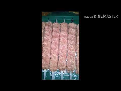 Люля кабоб из мяса 🥩 быка
