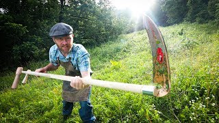 Can a Scythe Actually Go where a Mower Can't