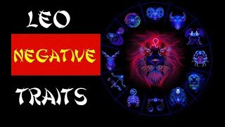 Leo Most Dangerous Or Negative Traits And Facts | The Dark Side Of Leo Zodiac Sign