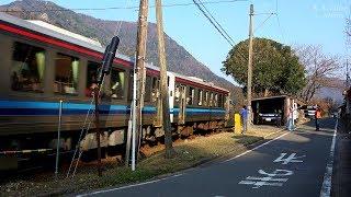 【鉄道のある風景】JR三江線・大地温もり人集う郷 (11-Mar-2018)