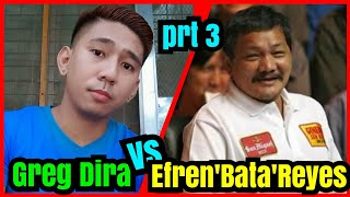 Part 3 | Efren 'Bata' Reyes VS. Greg Dira 55k R21 @ YBC GRAND HOTEL OLONGAPO CITY