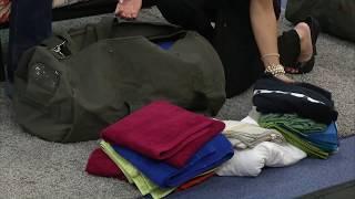 Xcase Canvas-Reisetasche mit Schultergurt, 60 Liter