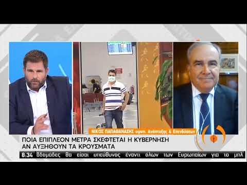 Ν.Παπαθανάσης | Ο Υφυπουργός Ανάπτυξης και Επενδύσεων στην ΕΡΤ | 20/07/2020 | ΕΡΤ