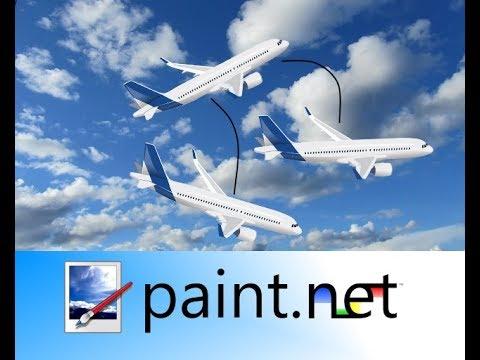 Paint.net - Como mudar inclinação da imagem