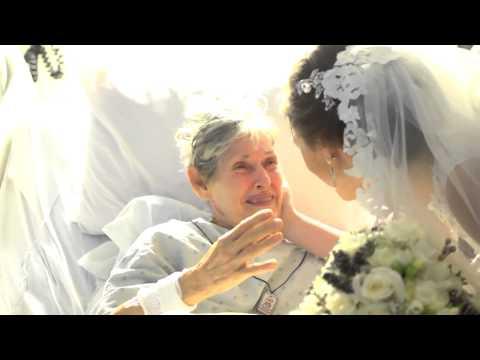 Emocionante: Casal foge da própria festa de casamento para fazer surpresa para avó em hospital