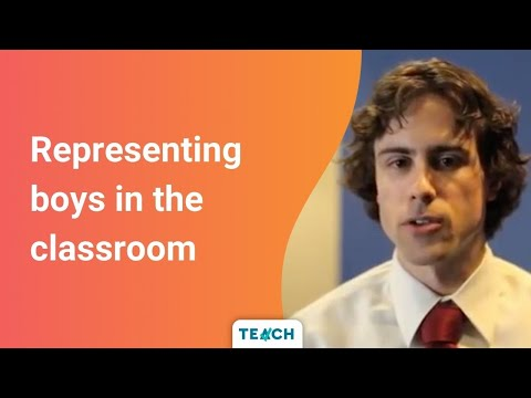 Nicholas Greer discusses the need for male role models in schools.