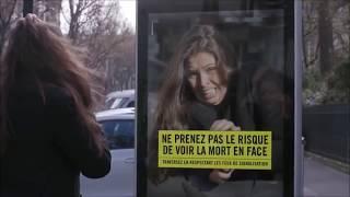 Переход на красный свет светофора Франция