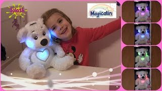 Magicalin ♥ Sprechender und leuchtender Teddy - Einschlafhilfe | Splash Toys