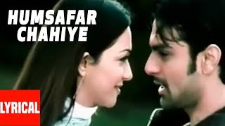 Humsafar Chahiye Lyrical Video | Inteha | Udit Narayan, Alka