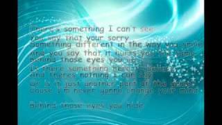 Behind Those Eyes Lyrics (3 Doors Down)