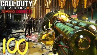 KINO DER TOTEN ROUND 1-80+ STARTING ROOM ONLY! - BLACK OPS 3 ZOMBIES CHRONICLES GAMEPLAY!