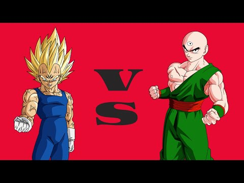 Hyper Dragon Ball Z - Majin Vegeta VS Ten Shin Han