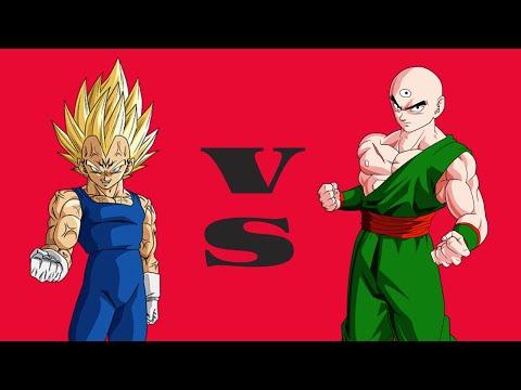 Hyper Dragon Ball Z - Majin Vegeta VS Ten Shin Han