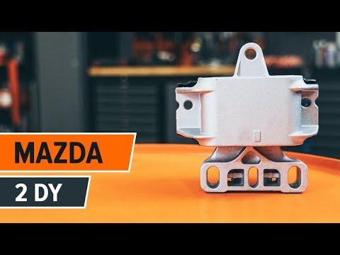 Como reemplazar el soporte de la caja de cambios en MAZDA 2 DY
