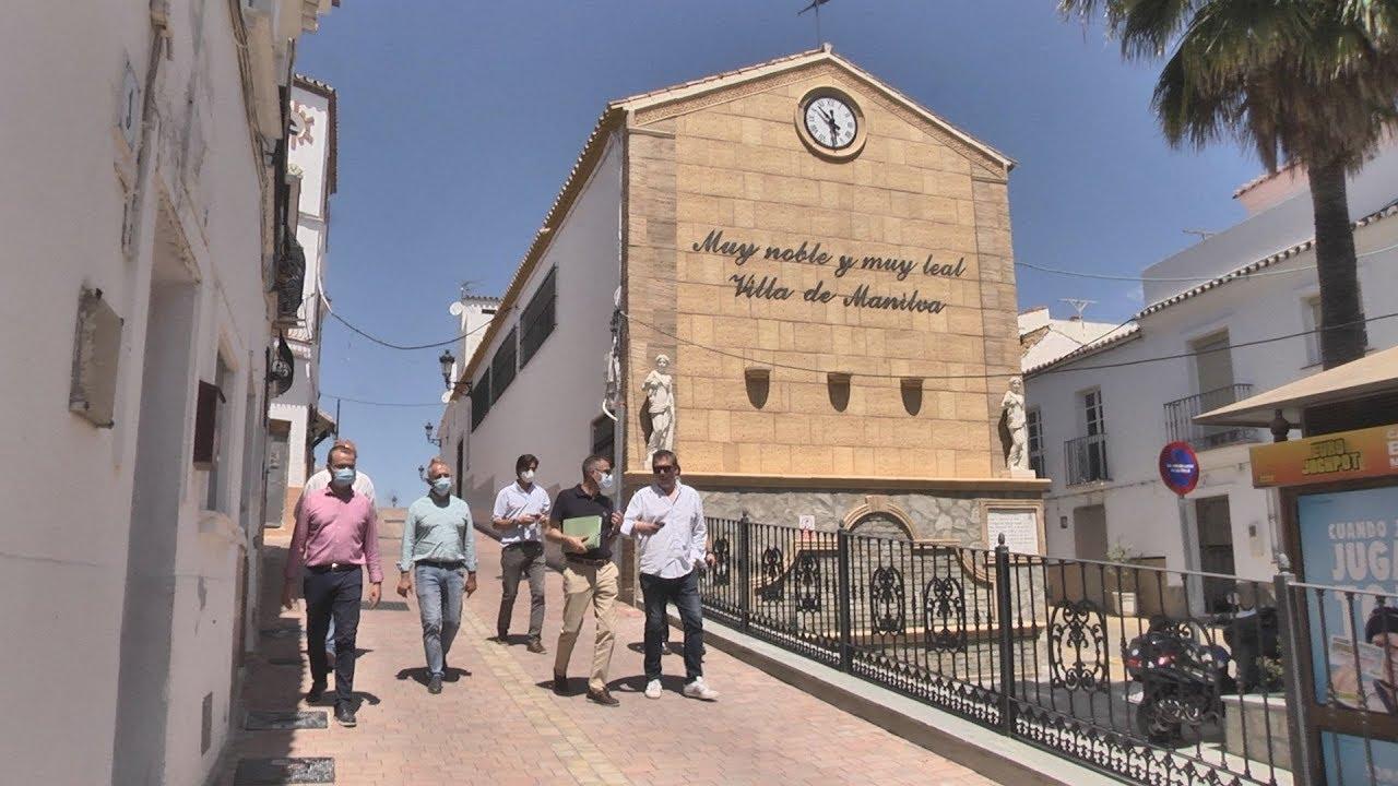 Finalizadas las obras en la calle Isidoro de Manilva