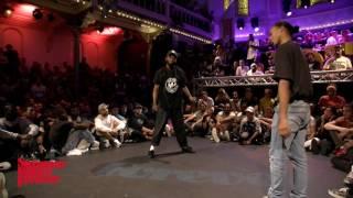 Paradox vs Franky Dee JUDGE BATTLE Hiphop Forever - Summer Dance Forever 2016